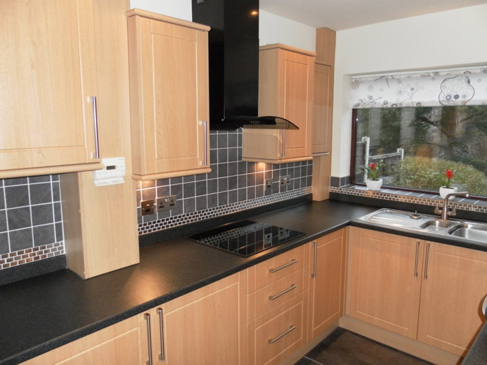 Modern kitchen installation jj joinery past work for Fitted kitchens
