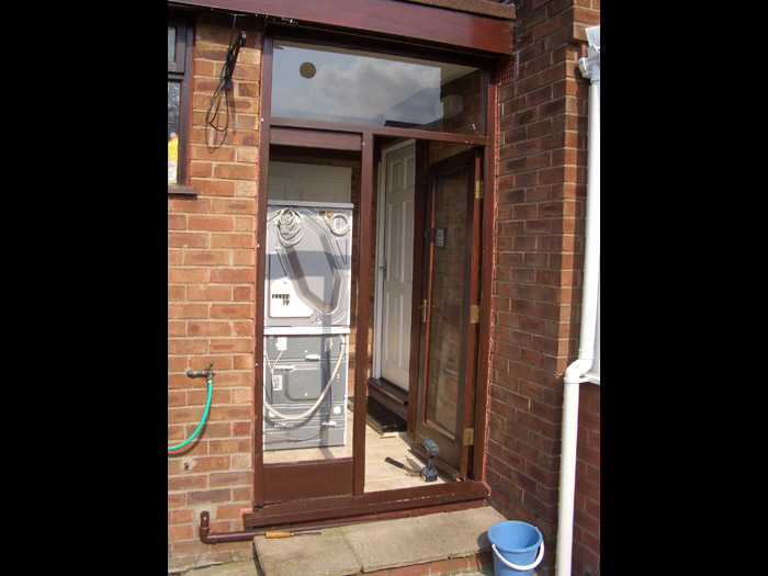 French door jj joinery past work for New upvc door and frame