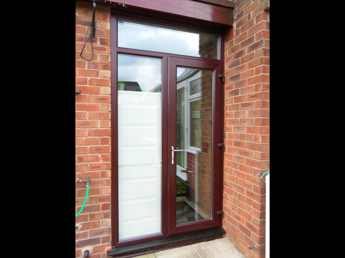 French door jj joinery past work for Installing upvc french doors