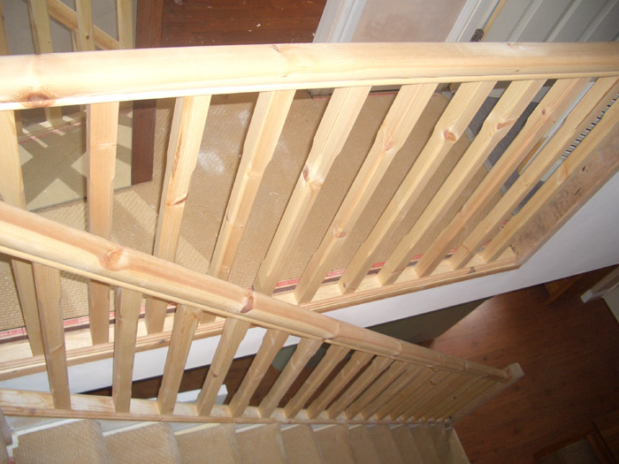 Stair Handrail Replacement Image 4; Stair Handrail Replacement Image 1 ...